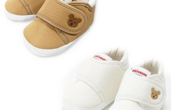 【mikihouse】- 嬰兒學步鞋/室內鞋