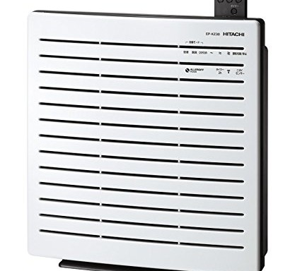 日立【對抗PM2.5空汙】空氣清淨機 EP-KZ30 W